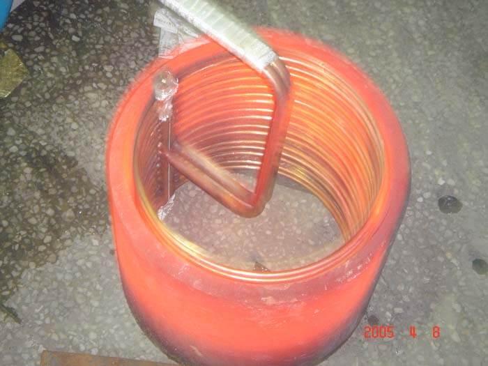 钢套热装(外径300内径270,高度300mm的钢管整体加热