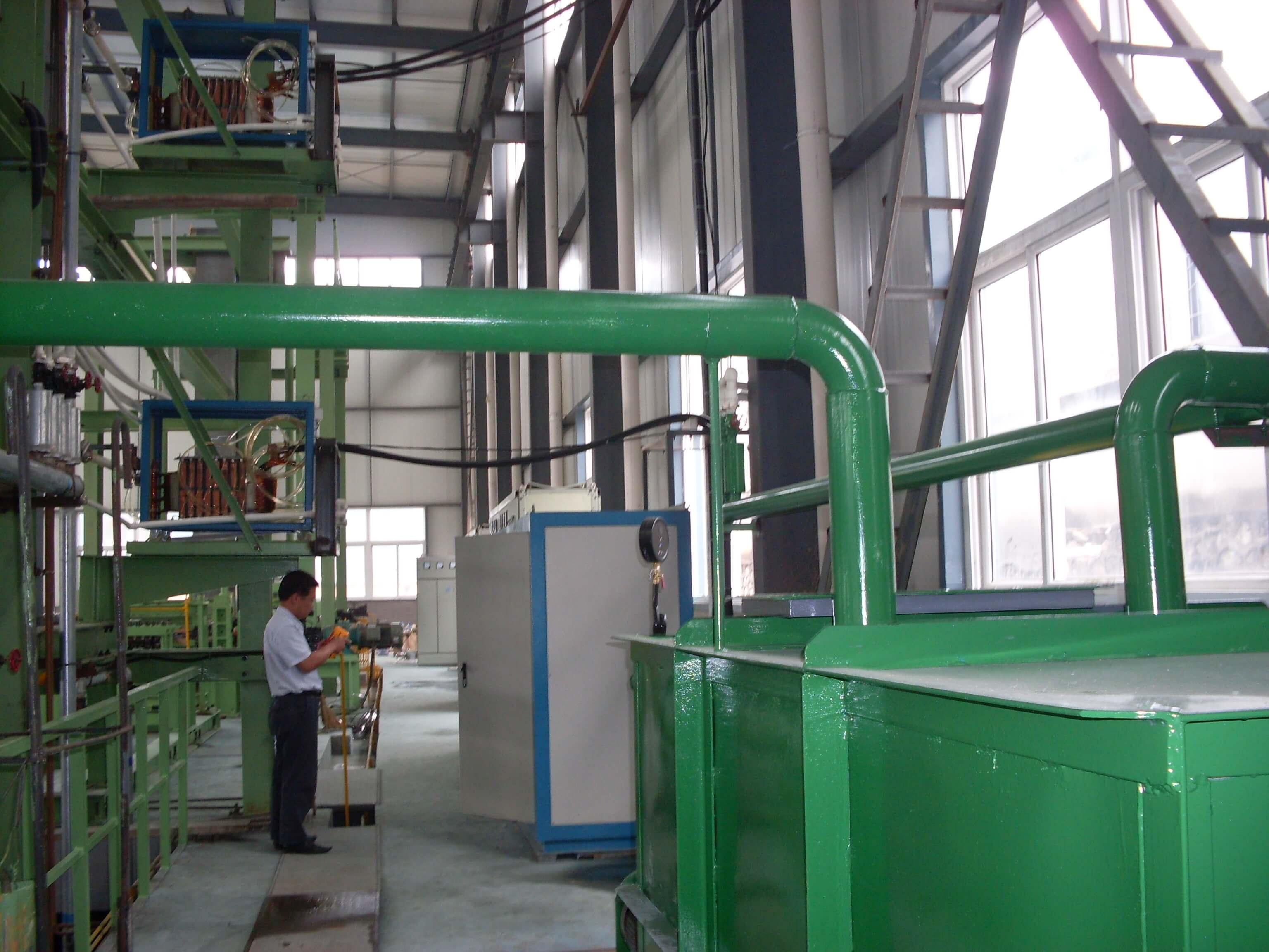 400KW鋼帶熱處理生產線